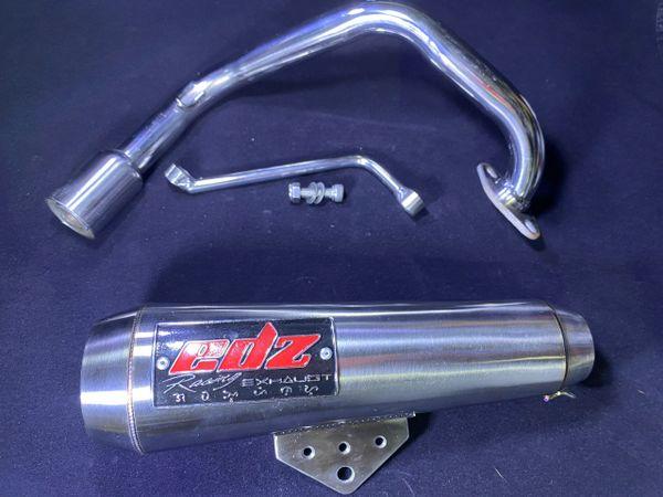 Honda Ruckus NPS50 49CC EDZ racing Exhaust for Fatty wheel