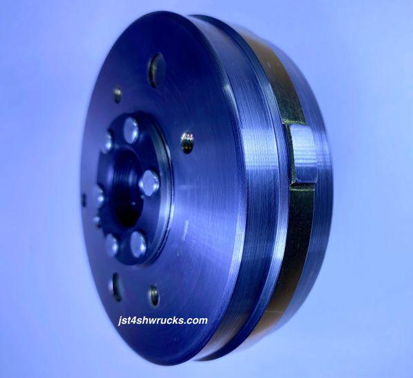 Lighten Magneto Flywheel for 50cc 4-stroke QMB139 engines.