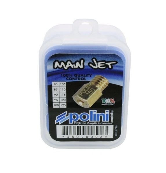 Polini Jet Kit for Arreche and Mikuni Sizes 80-125