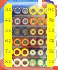 SSP-G 16x13 QMB139 Roller Weight Tuning Kit