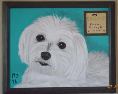 Loss of Pet Portrait Painting - Custom from your favorite photo