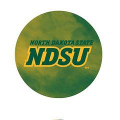 NDSU Fog 3 Round Pendant