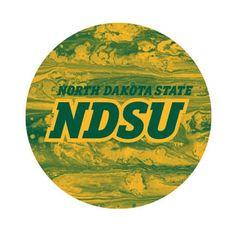 NDSU Concrete 1 Round Pendant