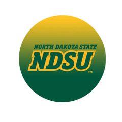 NDSU Primary Gradient 1 Round Pendant