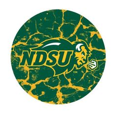 NDSU Primary Cracks 3 Round Pendant