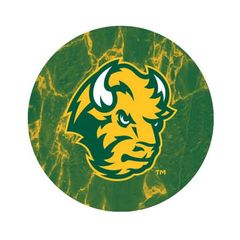 NDSU Head Marble 1 Pewter Key Chain or Money Clip