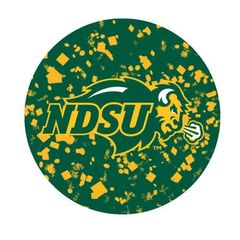 NDSU Primary Confetti 1 Pewter Key Chain or Money Clip