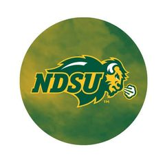 NDSU Primary Fog 3 Pewter Key Chain or Money Clip