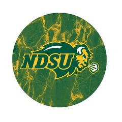 NDSU Primary Marble 1 Pewter Key Chain or Money Clip