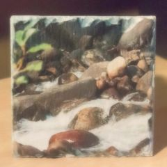 "4"" Slate Sink's Canyon Rushing Water Coaster"