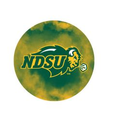 NDSU Primary Clouds 1 Round Ring Stand™ Phone Holder