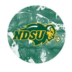 NDSU Primary Concrete 2 Round Ring Stand™ Phone Holder
