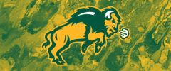 NDSU Body Logo on Concrete 1 Rectangle Ring Stand™ Phone Holder