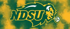 NDSU Primary Logo on Clouds 1 Rectangle Ring Stand™ Phone Holder