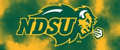 NDSU Primary Logo on Clouds 2 Rectangle Ring Stand™ Phone Holder