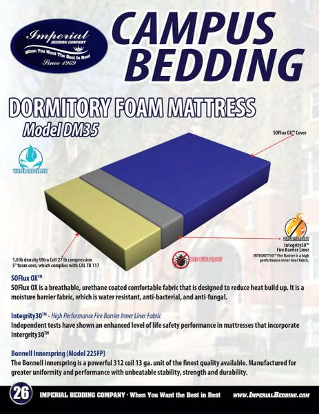 "Dormitory Mattress ""Please Call For Pricing"""