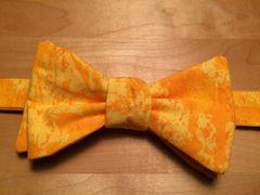 Yellow Orange Batik