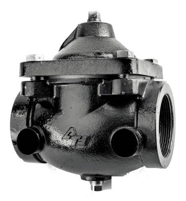 """DWP156 2-1/2"""" Air Operated In-Line Remote Controlled Valves For Water Trucks, Not Tapped"""