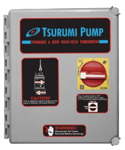 TSURUMI 5000 2.5-4.0 AMP CONTROL PANEL