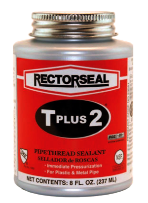 Rectorseal #5 T Plus 2 Teflon Pipe Thread Sealant 1/2 PT