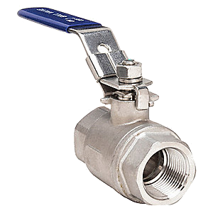 Stainless Steel Threaded Ball Valves - 1000# Rated