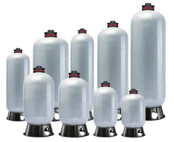 Pro Source Composite Bladder Style Pressure Tanks 119 Gallon PSC119-35 - Parts Shown Below at Additional Cost