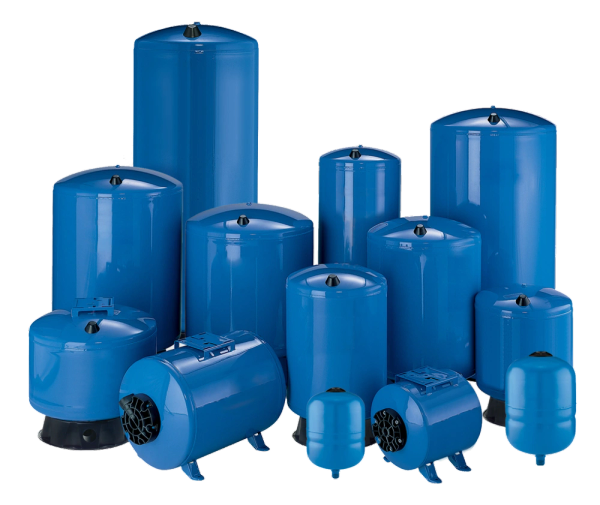 Pro Source Steel Bladder Style Pressure Tanks 6 Gallon PS6-S02 3/4""