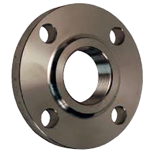 FLANGES - THREADED - BLACK STEEL & Optional Gaskets