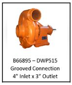 B66895 Style Water Truck Pump - FLAT $50.00 FREIGHT CHARGE
