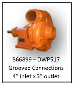 B66899 Style Water Truck Pump - FLAT $50.00 FREIGHT CHARGE