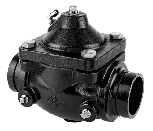 "3"" Grooved Air Operated In-Line Remote Controlled Valves For Water Trucks - Steel DWP154"