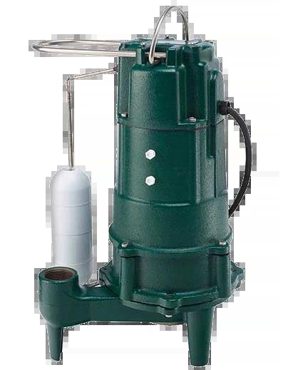 Zoeller M803 3/4HP 115V Automatic Residential Sewage Grinder Pump