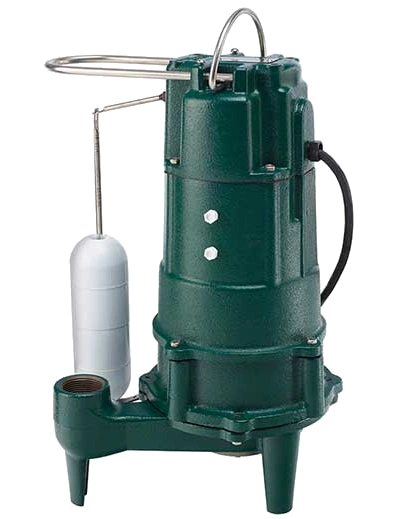 Zoeller M807 1HP 115V Automatic Residential Sewage Grinder Pump