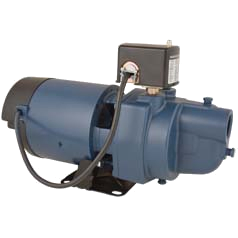 """F & W EK10S 1HP 115/230V Shallow Well Jet Pump: 1-1/4"""" IN 1"""" OUT"""