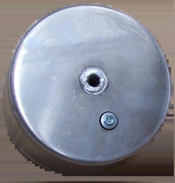 "8 ASTF 8"" X 4"" Welded Aluminum Tank Float"