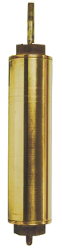"442 Flush Cap 3"" x 10"" Brass Cylinders"