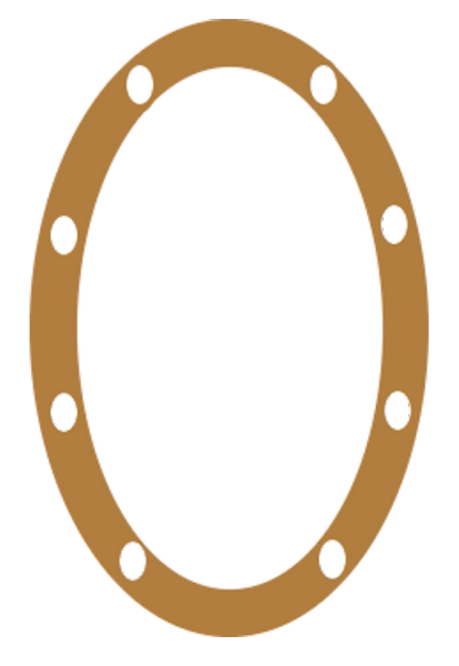 S05126 8 BOLT HOLE VOLUTE GASKET