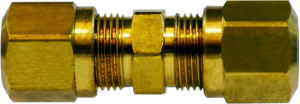 DOT Approved Brass Compression x Compression Coupling