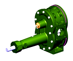 2300 SERIES BOWIE ROTARY GEAR PUMP