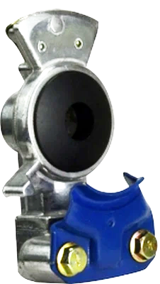 39874 DOT197 Aluminum Service Gladhand - Blue