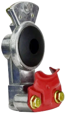 39877 DOT198 Aluminum Service Gladhand - Red