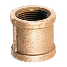 Cast Brass Threaded Couplings