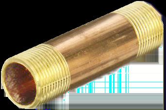 1/2 Inch Brass Nipple