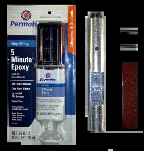 """Fiberglass Windmill Pump Rod 5/8"""" FG x 5/8"""" Female Repair Kit"""