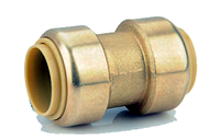 Brass Push On Couplings 4 Pack
