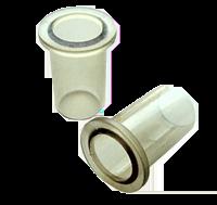 Brass Push On PEX Fitting Stiffners 4 Pack