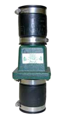 "Zoeller 30-0151: 2"" cast iron slip x slip unions sump & sewage check valve"