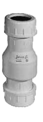 """ZOELLER 30-0015 1-1/2"""" & 30-0020 2"""" COMPRESSION STYLE CHECK VALVES"""