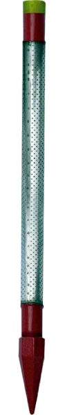"""Standard Stainless Steel 1-1/4"""" x 36""""Drive Points w / Cast Iron Head"""