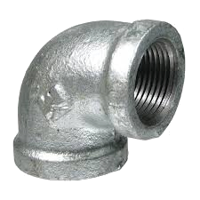 "3/4"" - 2"" NPT Galvanized Threaded Pipe 90 D Elbows"